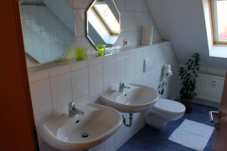 Ferienwohnung Haus Albsicht - Badezimmer