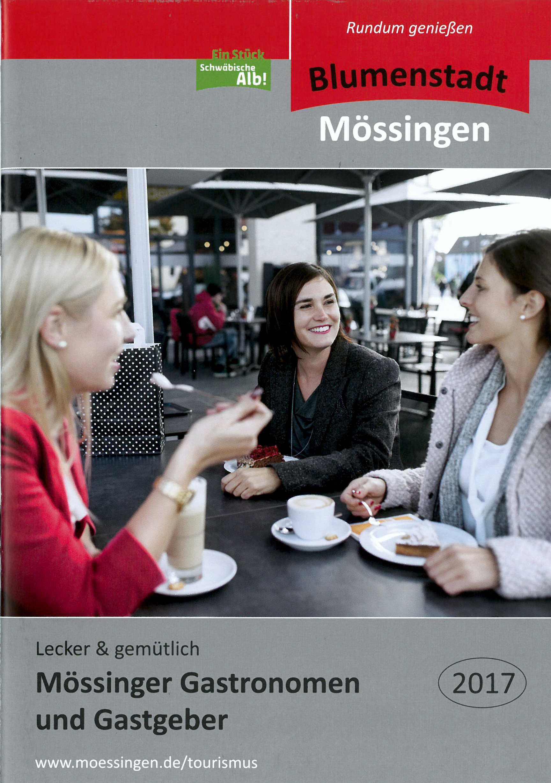 Mössinger Gastgeber und Gastronomen 2017