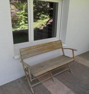 Terrasse Ferienwohnung Bolbergblick