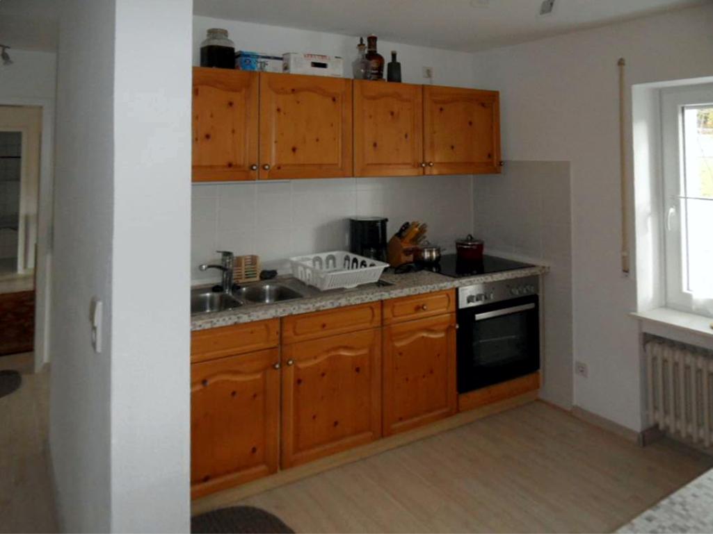 Küchenzeile Ferienwohnung Bolberglick
