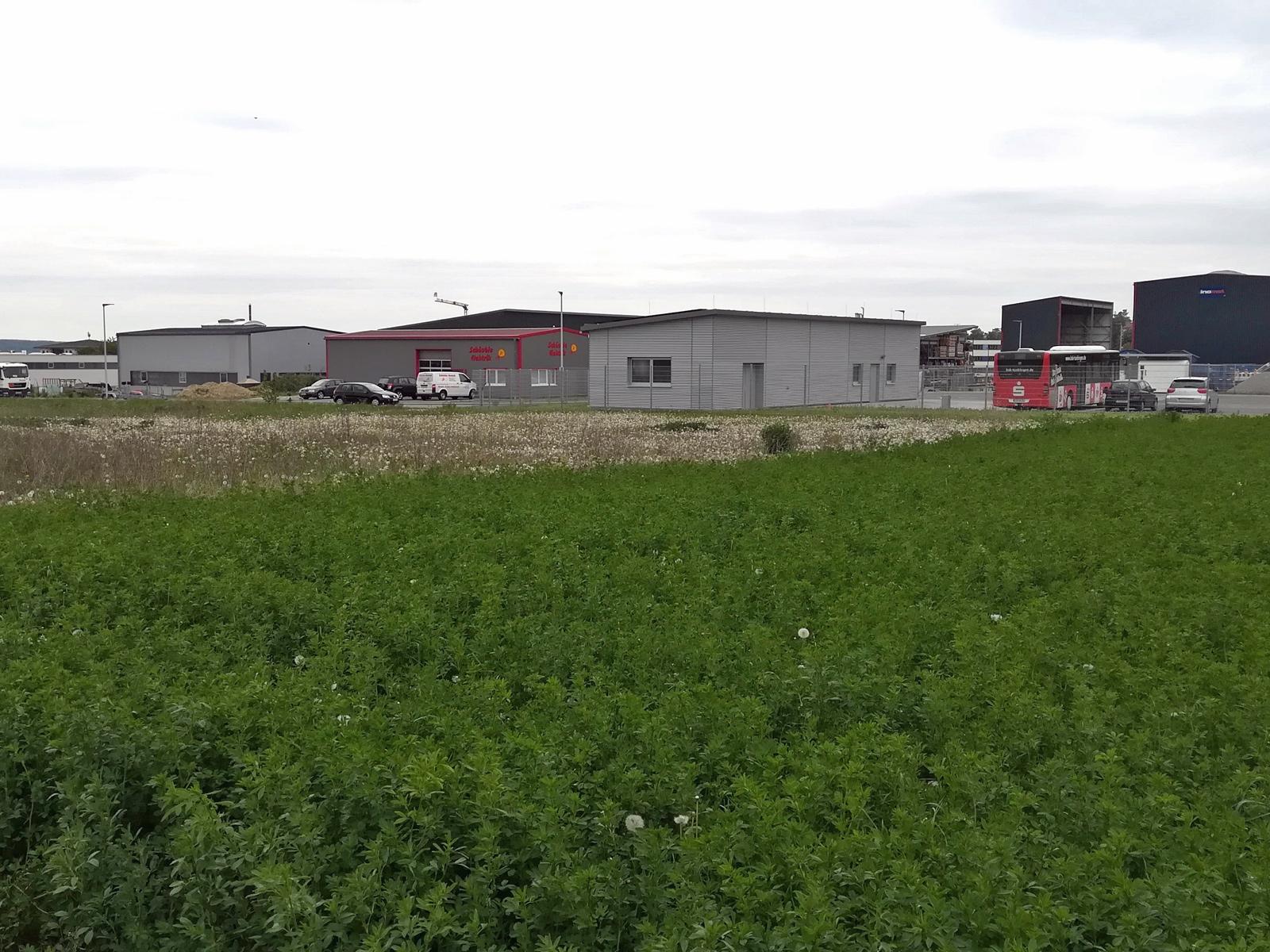 """Flächen und Gebäude im Gewerbegebiet """"Vor Doernach"""" Mössingen"""