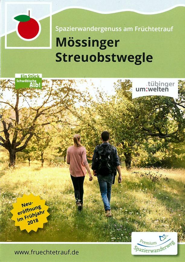 Flyer Mössinger Streuobstwegle