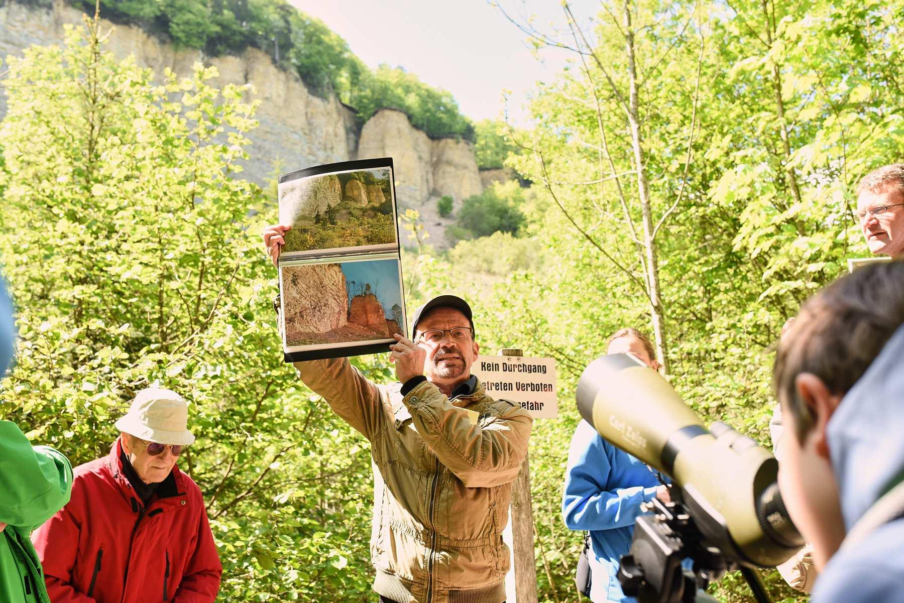 Bergrutschführung mit Armin Dieter