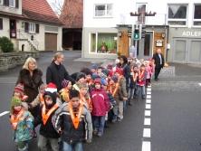 Fußgängerampel Reutlinger Straße