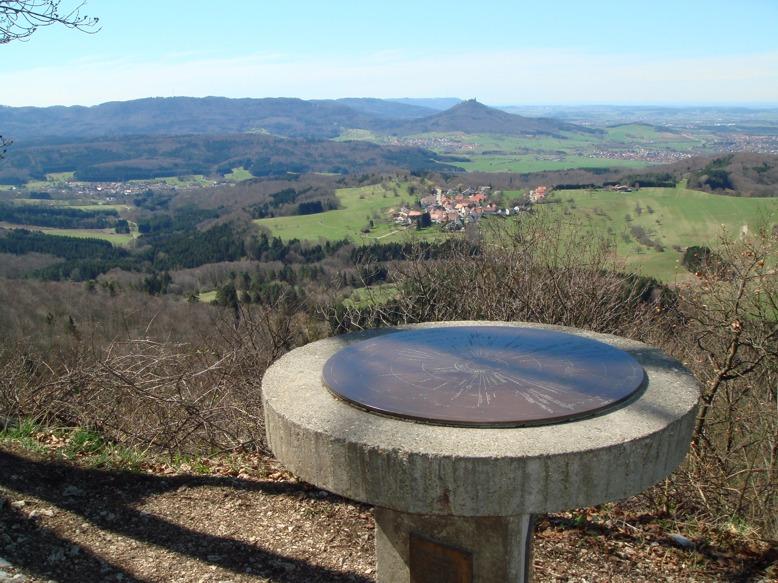 Blick vom Aussichtpunkt Dreifürstenstein