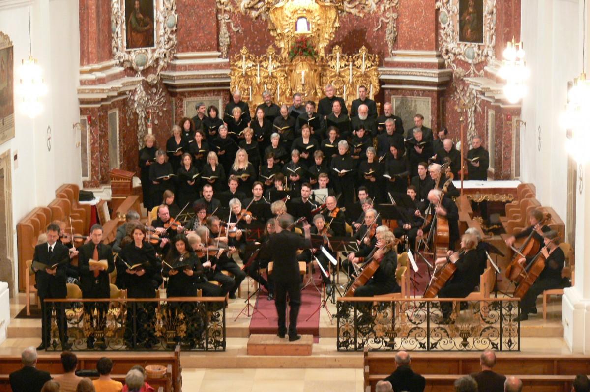 2013 Konzert:Mozart Requiem in Wallfahrtskirche Weggental mit Chor Pierre de Lune aus St. Julien