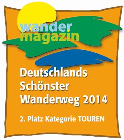 Der Dreifürstensteig ist Deutschlands zweitschönster Wanderweg 2014