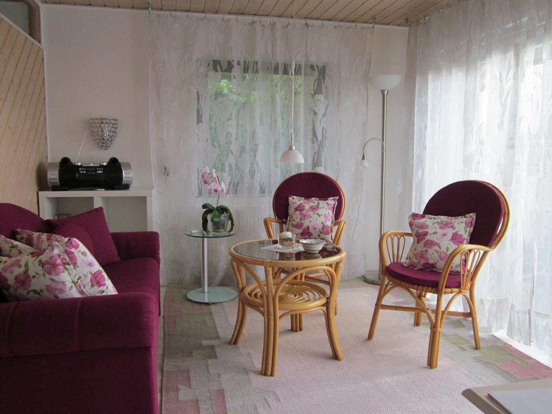 Wohnzimmer Bambusgarten