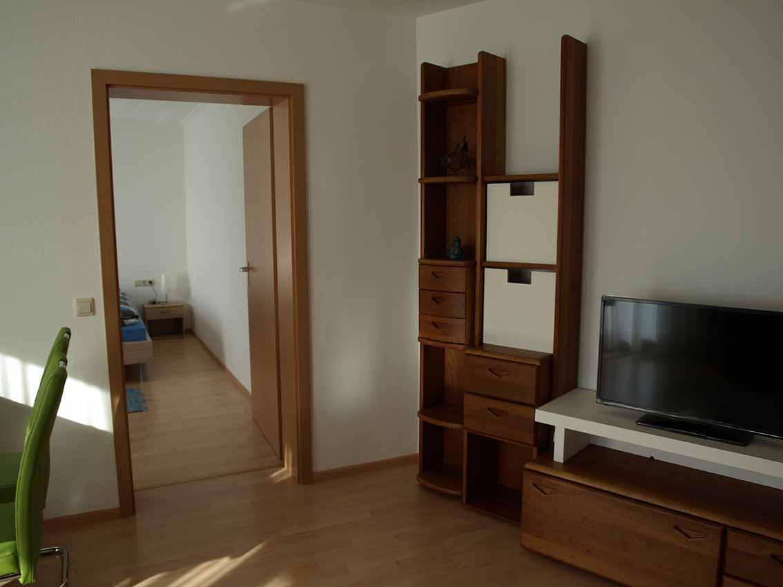 Übergang Wohn- Schlazimmer