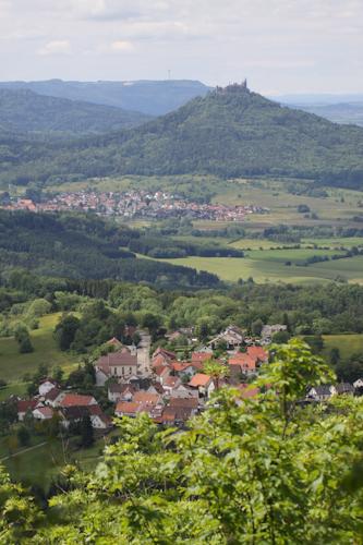 Ausblick vom Dreifürstenstein (A Letsch)