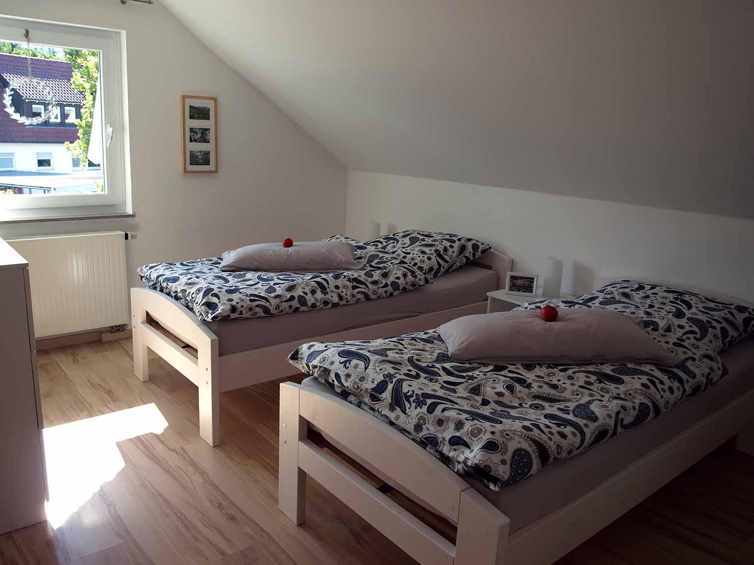 Schlafzimmer Am Geißbächle