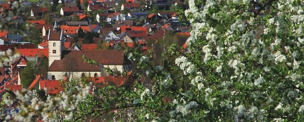 Peter-und-Paulskirche zur Obstblüte