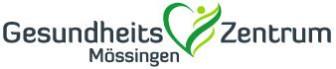 Logo vom Gesundheitszentrum Mössingen