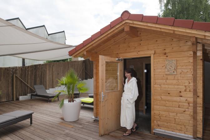 Sauna im MeTraVit von Bad Sebastiansweiler