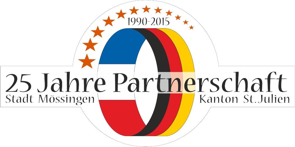 Logo für 25 Jahre Partnerschaft