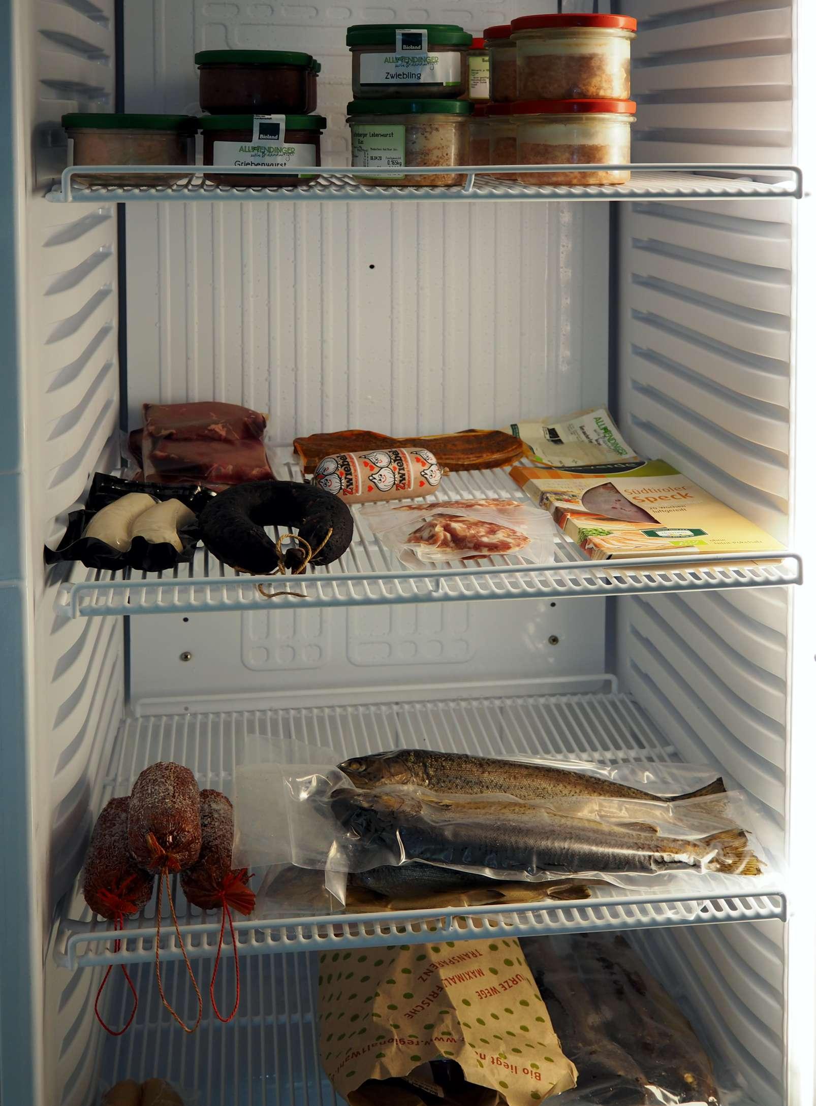 Hochwertige Lebensmittel im Hofladen Möck
