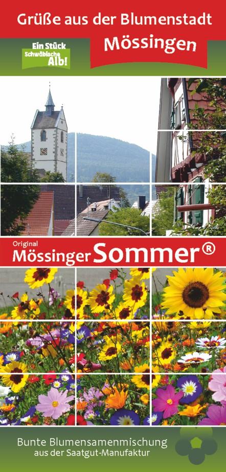 Original Mössinger Sommer - Bunte Blumensamenmischung