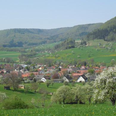 Ausblick auf Talheim