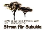 Logo mit Kontonummer des Vereins
