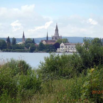 Konstanz Uferweg zur Innenstadt