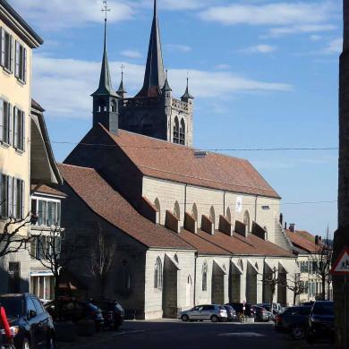 Romont Kirche