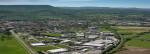 Mössingen, Industriegebiet Schlattwiesen.Luftbild Klaus Franke