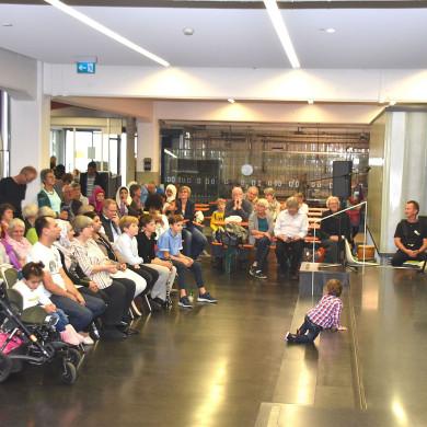 Oberbürgermeister Bulander hält Eröffnungsrede für Eine Welt Fest
