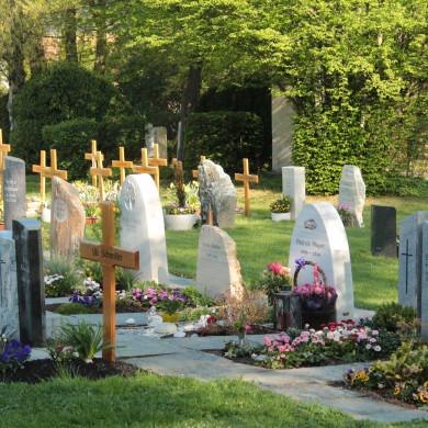 Gräber zur Bepflanzung