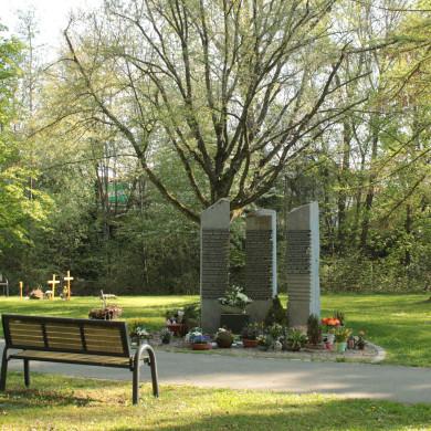 Baumgrabfeld Friedhof Mössingen
