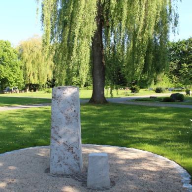 Baumgrabfeld Friedhof Öschingen