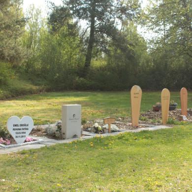 Islamisches Grabfeld auf dem Friedhof Mössingen