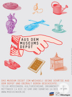 Plakat Magazinausstellung in der Kulturscheune