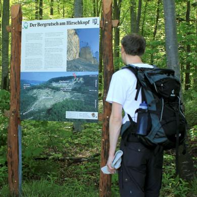 Infos zum Bergrutsch am Dreifürstensteig