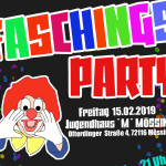 "Faschingsparty im Jugendhaus ""M"" am 15. Februar 2019"
