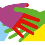 Hände Bürgerempfang