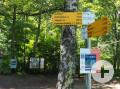 Wanderparkplatz Bergrutsch