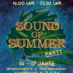Party für Jugendliche  von 14 bis 17 Jahren