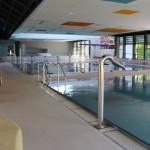 Ein Blick in das modernisierte Hallenbad Mössingen