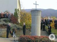 Totengedenken in Talheim