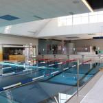 Ein Blick in das Schwimmerbecken