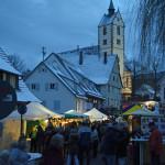 Weihnachtliche Stimmung auf dem Weihnachtsmarkt in Mössingen