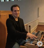 Organist Peter Schleicher