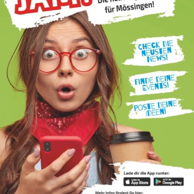 Flyer zur App