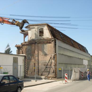 Abriss Grabshoppersgebäude