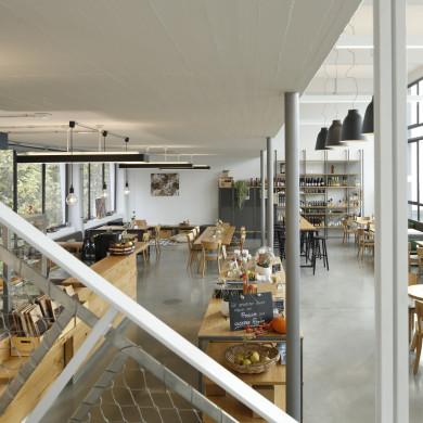 Streuobst Cafe innen