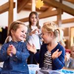 Kindergartenkinder spielen