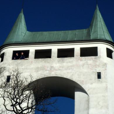 In der Nähe: Schönbergturm - im Volksmund: Pfullinger Unterhose