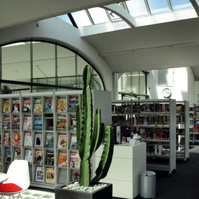 Stadtbücherei in der Tonnenhalle