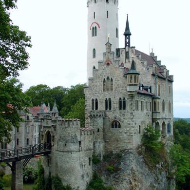 In der Nähe: Schloss Lichtenstein