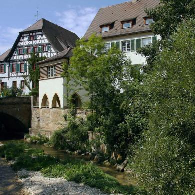 Mössinger Spittel mit Altem Rathaus